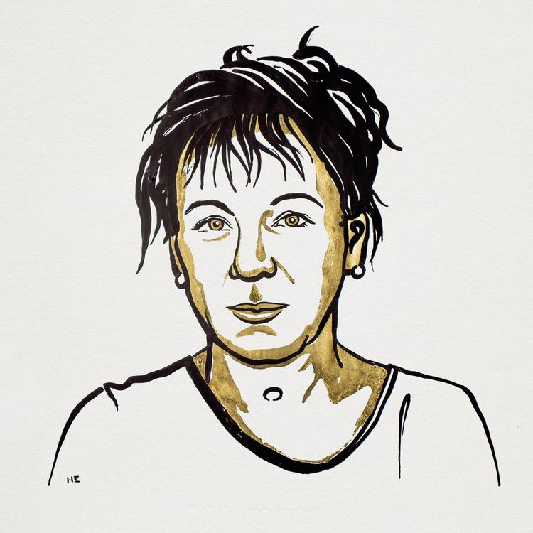 Olga Tokarczuk, Literaturnobelpreisträgerin 2018