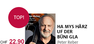 «Ha mys Härz uf der Büni gla» – das neue Album von Peter Reber jetzt portofrei bestellen.
