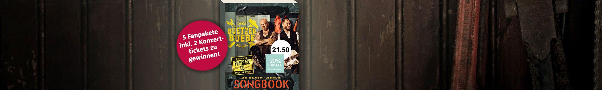 Songbook - Büetzer Buebe