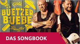 Das Songbook der Büetzer Buebe jetzt exklusiv bei Ex Libris.