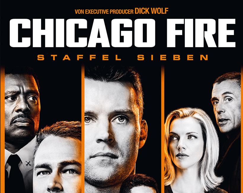 Chicago Fire - Die Serie auf DVD