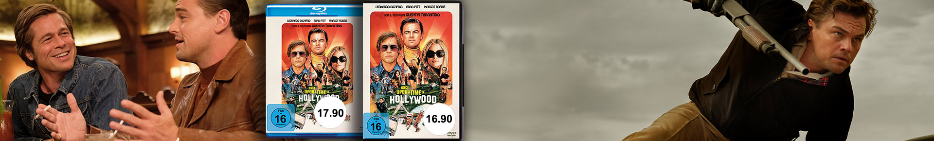 Once upon a time in Hollywood: Neu auf DVD