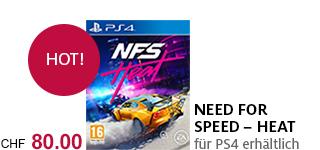 Bestellen Sie «Need For Speed – Heat» jetzt für die PS4!