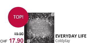 Das neue Album «Everyday Life» von Coldplay jetzt 10% Rabatt bestellen!
