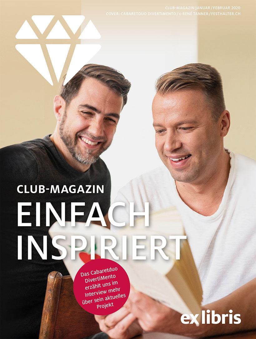 Ex Libris-Club-Magazin Januar/Februar 2020
