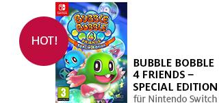 Bestellen Sie «Bubble Bobble 4 Friends - Special Edition» jetzt portofrei!