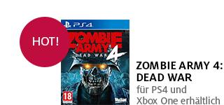 Bestellen Sie «Zombie Army 4: Dead War» jetzt portofrei!