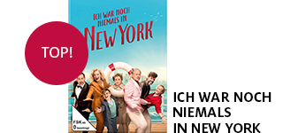 Bestellen Sie den Film «Ich war noch niemals in New York» jetzt online & portofrei.