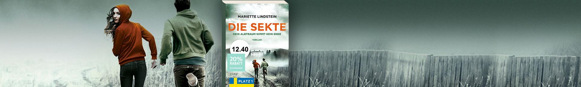 Die Sekte: Dein Albtraum nimmt kein Ende - Mariette Lindstein