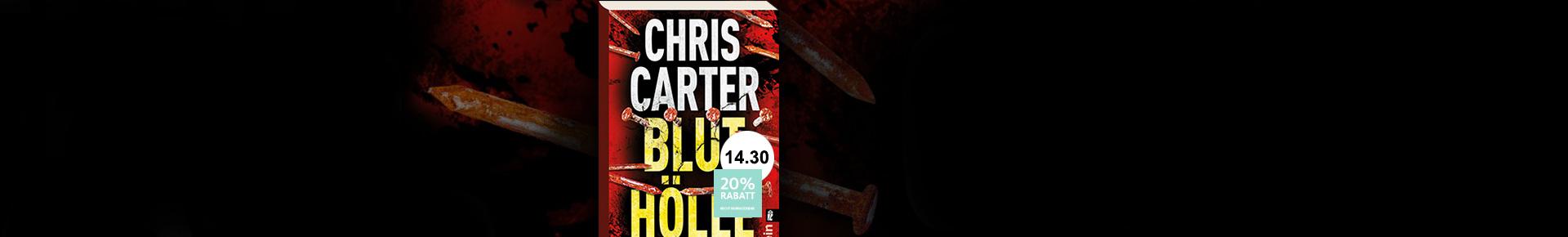 Bluthölle von Chris Carter jetzt bestellen