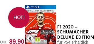 Bestellen Sie «F1 2020 - Schumacher Deluxe Edition» jetzt portofrei!
