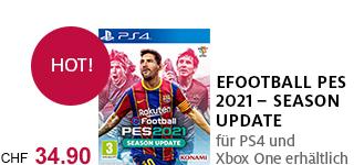 Bestellen Sie «eFootball PES 2021» jetzt portofrei!