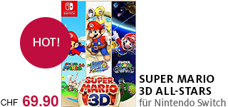 Bestellen Sie «Super Mario 3D All-Stars» jetzt portofrei!