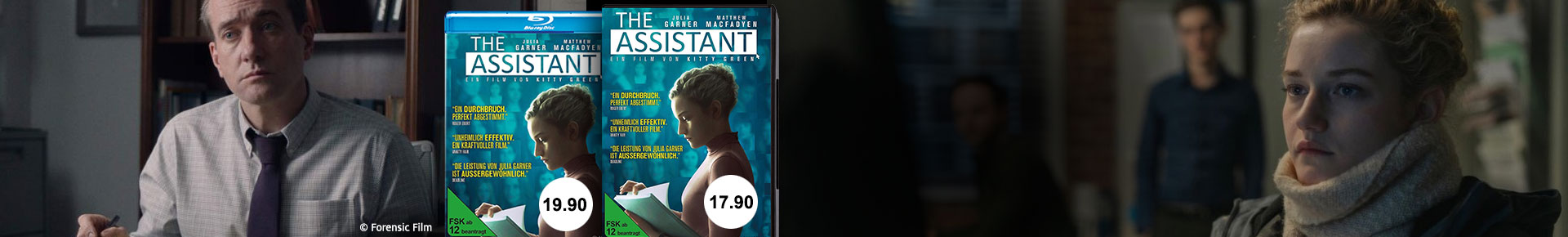 Bestellen Sie jetzt den Spielfilm «The Assistant» jetzt portofrei.