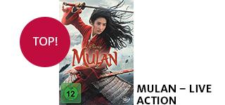 Bestellen Sie «Mulan - Live Action» jetzt online & portofrei.