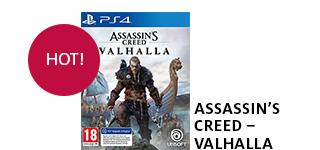 Bestellen Sie «Assassin's Creed - Valhalla» jetzt portofrei!