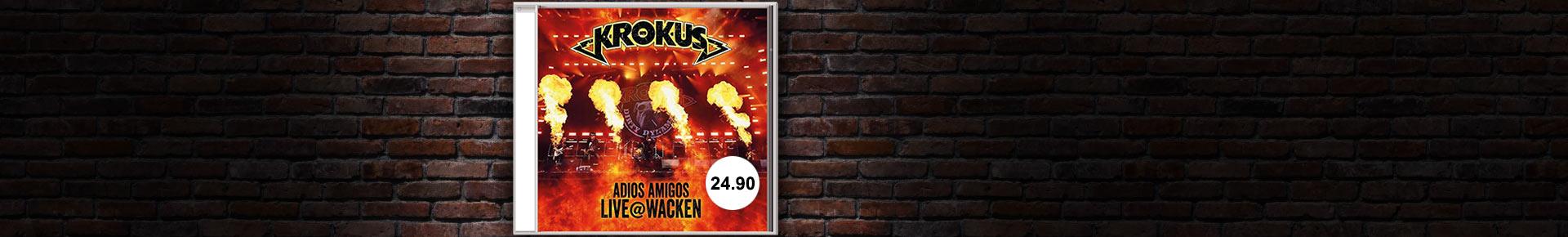 «Adios Amigos Live @ Wacken» von Krokus portofrei bestellen
