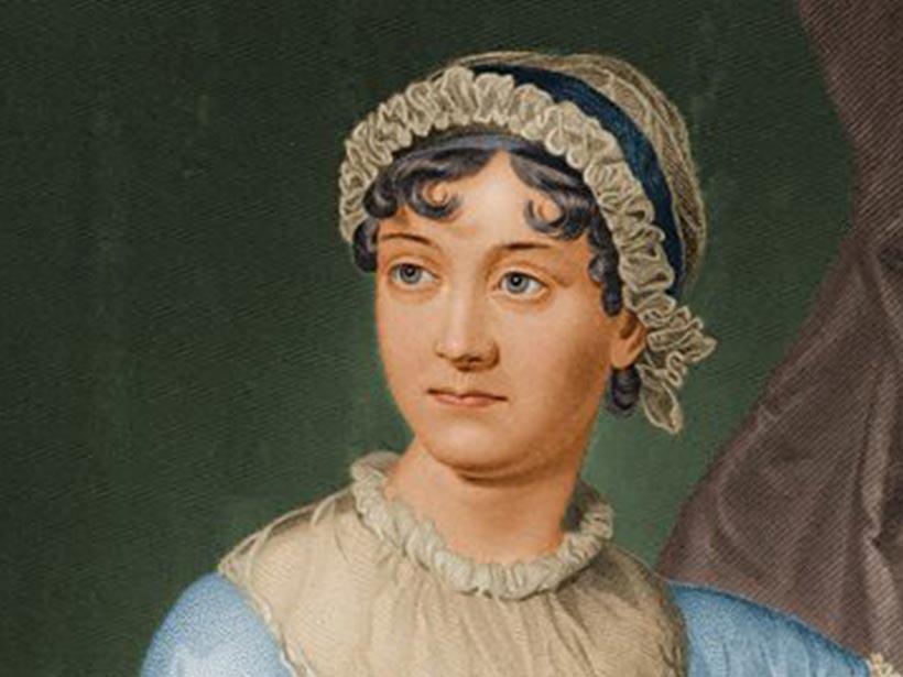 Jane Austen Porträt gemalen
