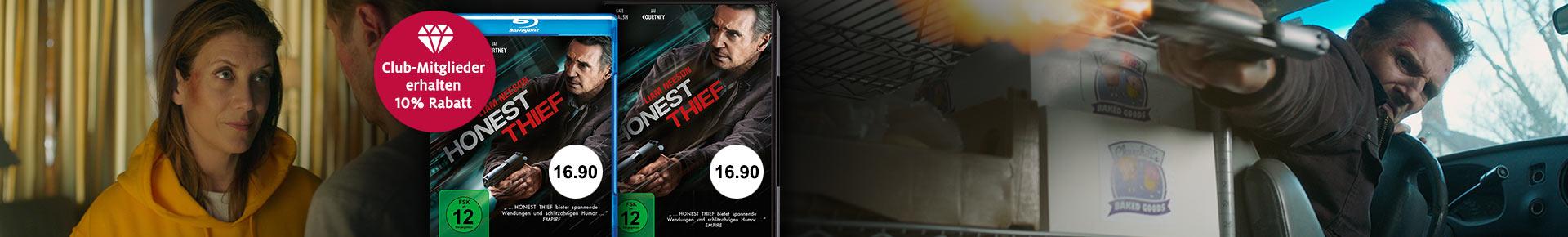 «Honest Thief» jetzt portofrei bestellen