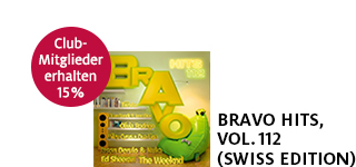 «Bravo Hits, Vol. 112» (Swiss Edition) portofrei bestellen