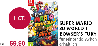 «Super Mario 3D World + Bowser's Fury» portofrei bestellen