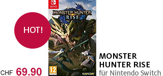 «Monster Hunter Rise» portofrei bestellen