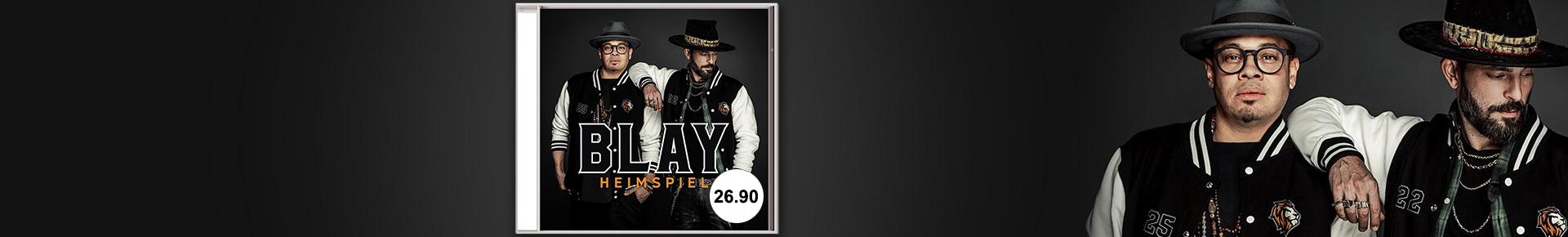 Bestellen Sie das Album «Heimspiel» von Blay jetzt portofrei.