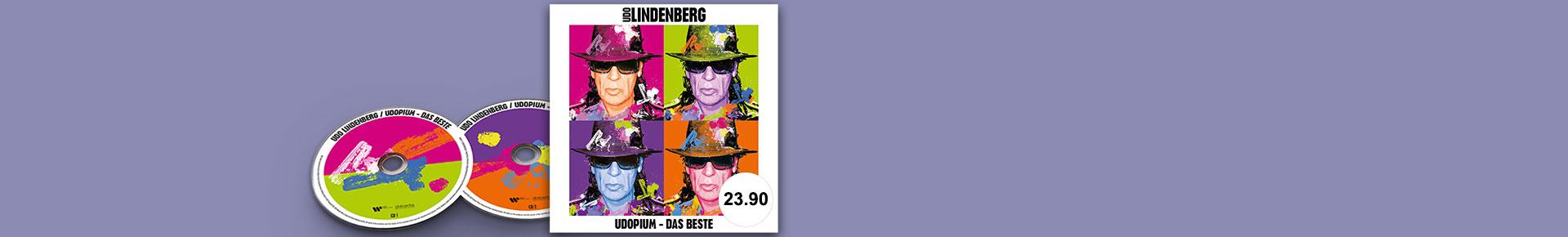 «Udopium» von Udo Lindenberg jetzt portofrei bestellen.
