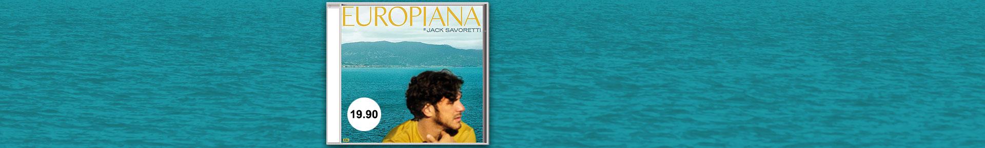 «Europiana» von Jack Savoretti jetzt portofrei bestellen.