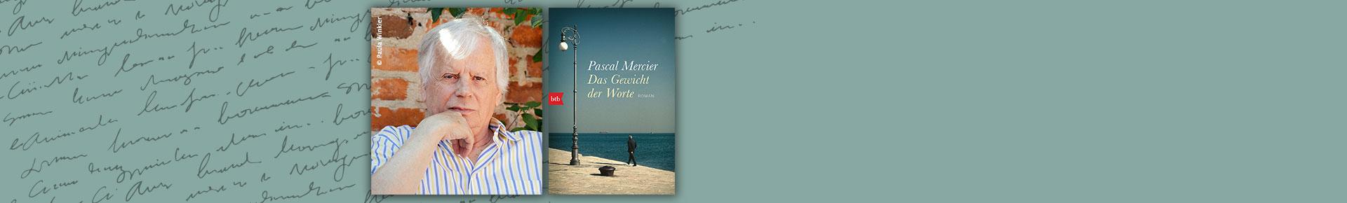 Lernen Sie Pascal Mercier, unseren Autor des Monats, kennen.
