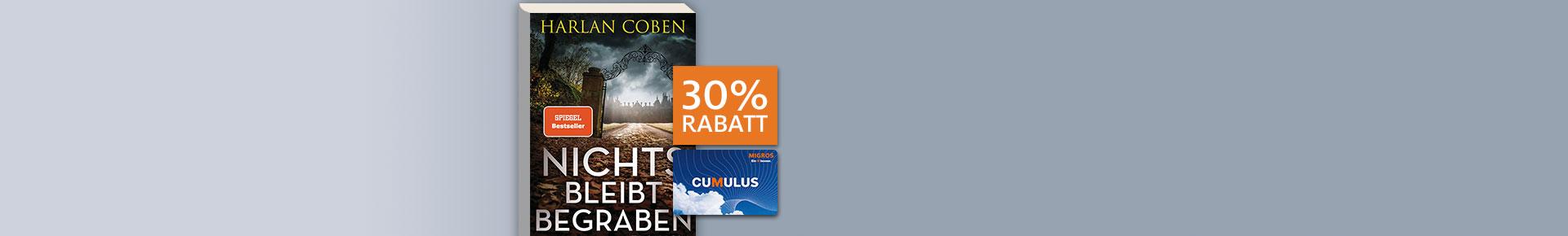 Cumulus-Angebot: 30% Rabatt auf «Nichts bleibt begraben»