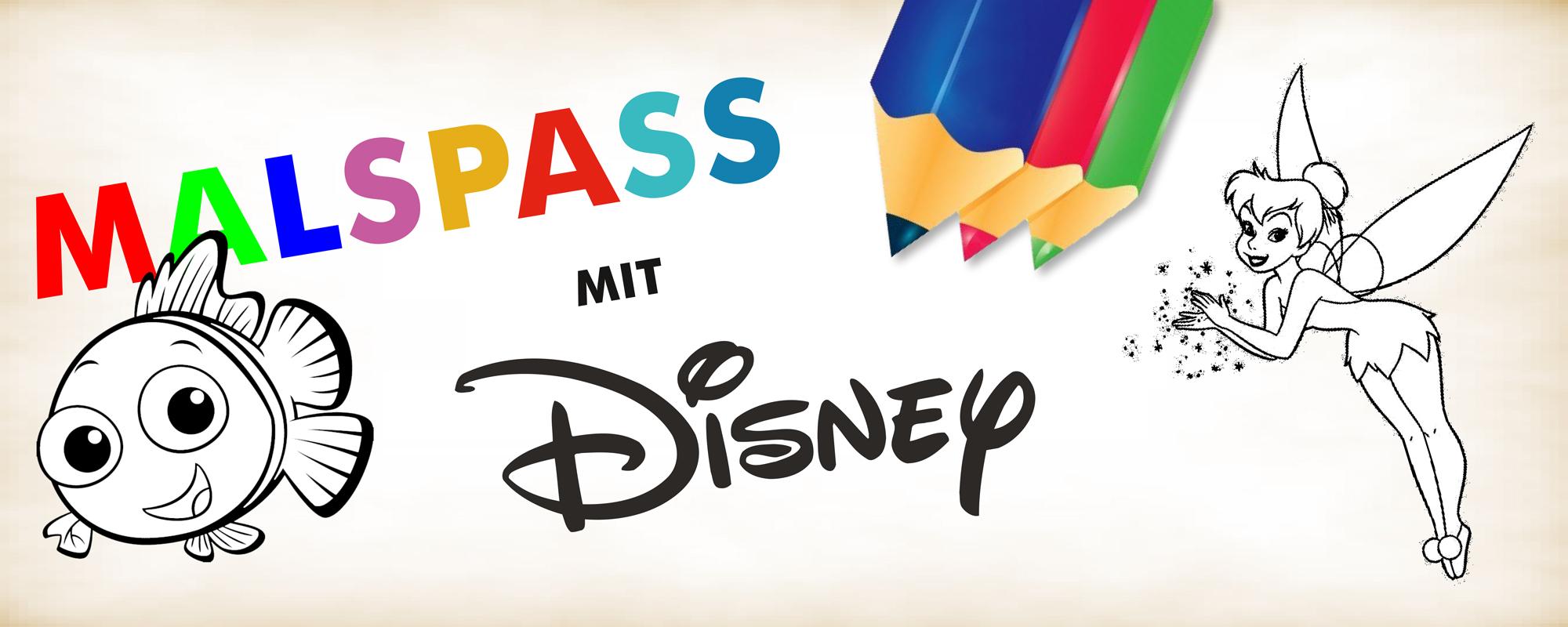 Disney Malbogen