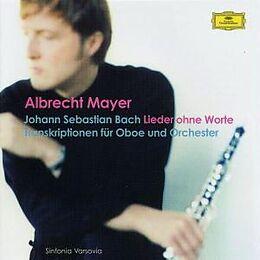 Mayer Albrecht CD Lieder Ohne Worte/transkr.oboe
