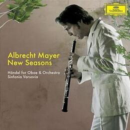 Mayer,Albrecht, gauci-ancelin,M., sinfonia Varsovia CD New Seasons: Händel Für Oboe Und Orchester