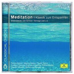 Diverse CD Meditation - Klassik Zum Entspannen