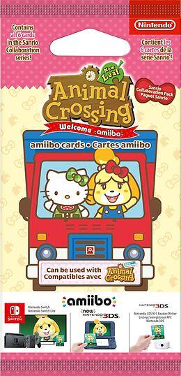 amiibo Cards - Animal Crossing: New Leaf + Sanrio [6 pcs] comme un jeu Nintendo 3DS, Nintendo 2DS, Ni