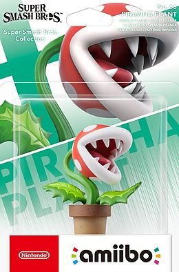 amiibo Super Smash Bros. Character - Piranha Plant (D/F/I/E) als Nintendo Wii U, Nintendo 2DS,-Spiel