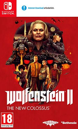 Wolfenstein II: The New Colossus [NSW] (D) als Nintendo Switch-Spiel