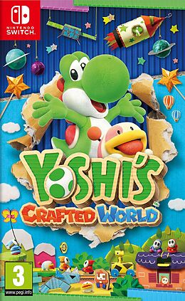 Yoshis Crafted World [NSW] (D) als Nintendo Switch-Spiel