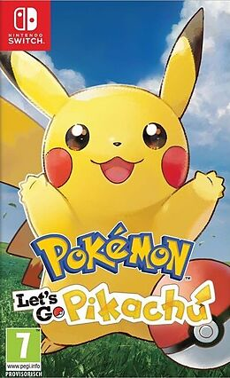 Pokémon Let's Go, Pikachu! [NSW] (D) als Nintendo Switch-Spiel