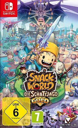 Snack World: Die Schatzjagd - Gold [NSW] (D) als Nintendo Switch-Spiel