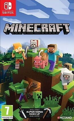 Minecraft Nintendo Switch Edition [NSW] (D/F/I) als Nintendo Switch-Spiel