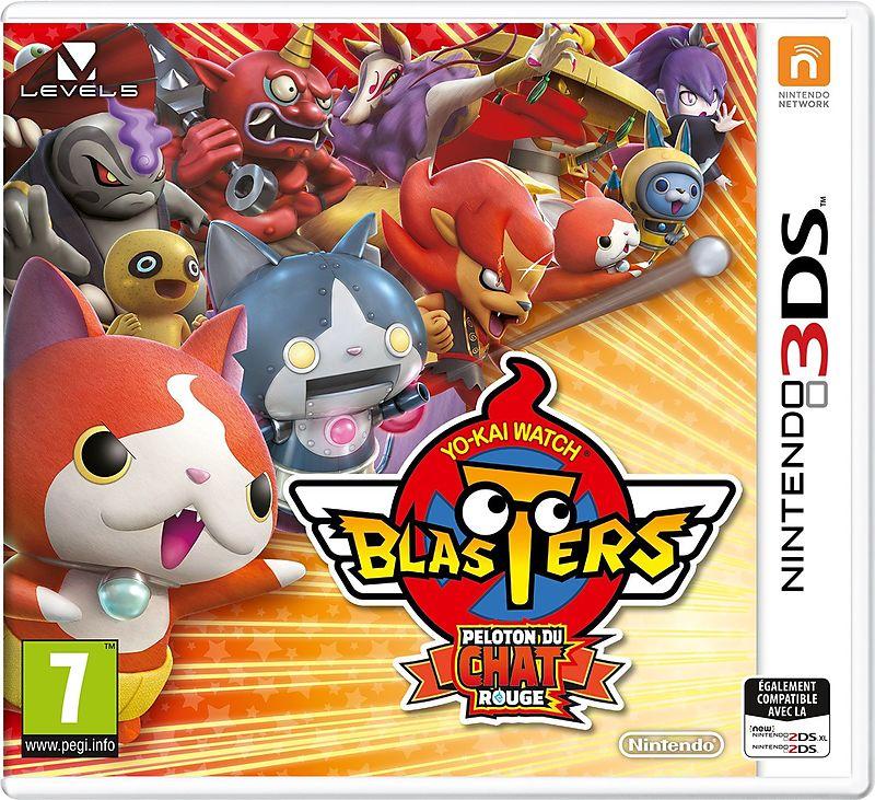 """Résultat de recherche d'images pour """"yo-kai watch blasters peloton du chat rouge 3ds"""""""
