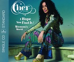 CHER Single CD I Hope You Find It/woman's World(2-track)