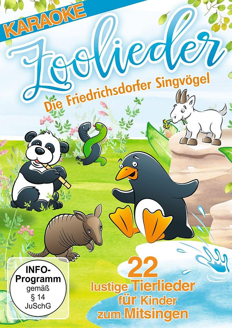 Zoolieder-22 lustige Tierlieder für Kinder zum M