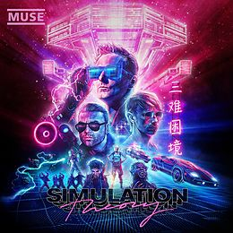 Muse CD Simulation Theory (deluxe)