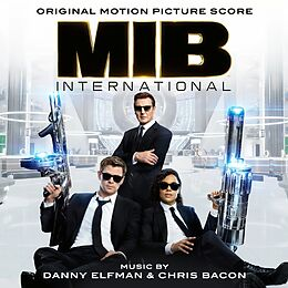 Danny & Bacon, Chris Elfman CD Men In Black: International / Ost Score