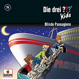 Die Drei ??? Kids CD 076/blinde Passagiere