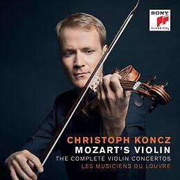 Christoph Koncz, Les Musiciens Du Louvre CD Mozart's Violin - The Complete Violin Concertos