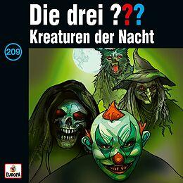 Die Drei ??? CD 209/kreaturen Der Nacht